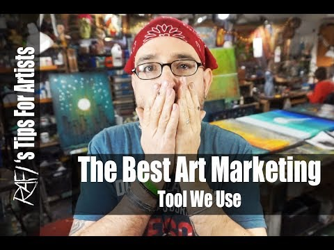 The Best Art Marketing Tool We Use As Artists