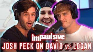JOSH PECK REVEALS WHY DAVID DOBRIK HATES LOGAN PAUL - IMPAULSIVE EP. 11