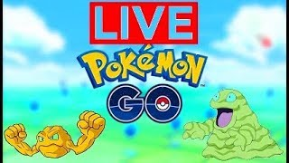 Pokemon Go - Shiny Geodude & Shiny Grimer Grind