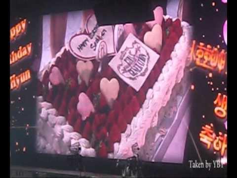 [Fancam] 110628 SNSD - SeoHyun's Birthday Celebration in Yoyogi Concert