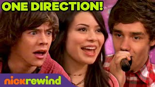 "iCarly Meets One Direction! 🤩 ft. 1D Performing ""What Makes You Beautiful"""