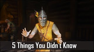 Skyrim: 5 Things You Probably Didn't Know You Could Do - The Elder Scrolls 5: Secrets (Part 3)