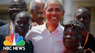 Barack Obama Visits His Father's Childhood Village In Kenya | NBC News