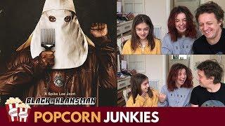 BlackkKlansman Official Trailer - Family Reaction & Review