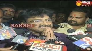 Ghazal Srinivas released on bail, speaks to media..