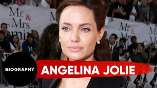 Angelina Jolie - Film Actress & Activist   Mini Bio   BIO