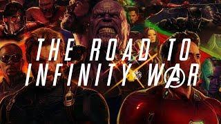 MCU Supercut - The Road To Infinity War