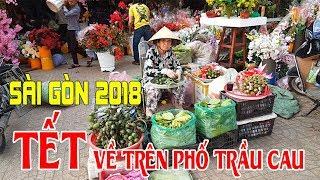 Tết Vietnam 2018 dạo một vòng Sài Gòn chợ Lớn ghé phố Trầu Cau lớn nhất Sài gòn Q6
