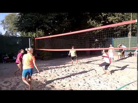 Beach Centrum - trénink začátečníků 9.7.2015