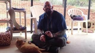 Jackson Galaxy at Best Friends Animal Sanctuary