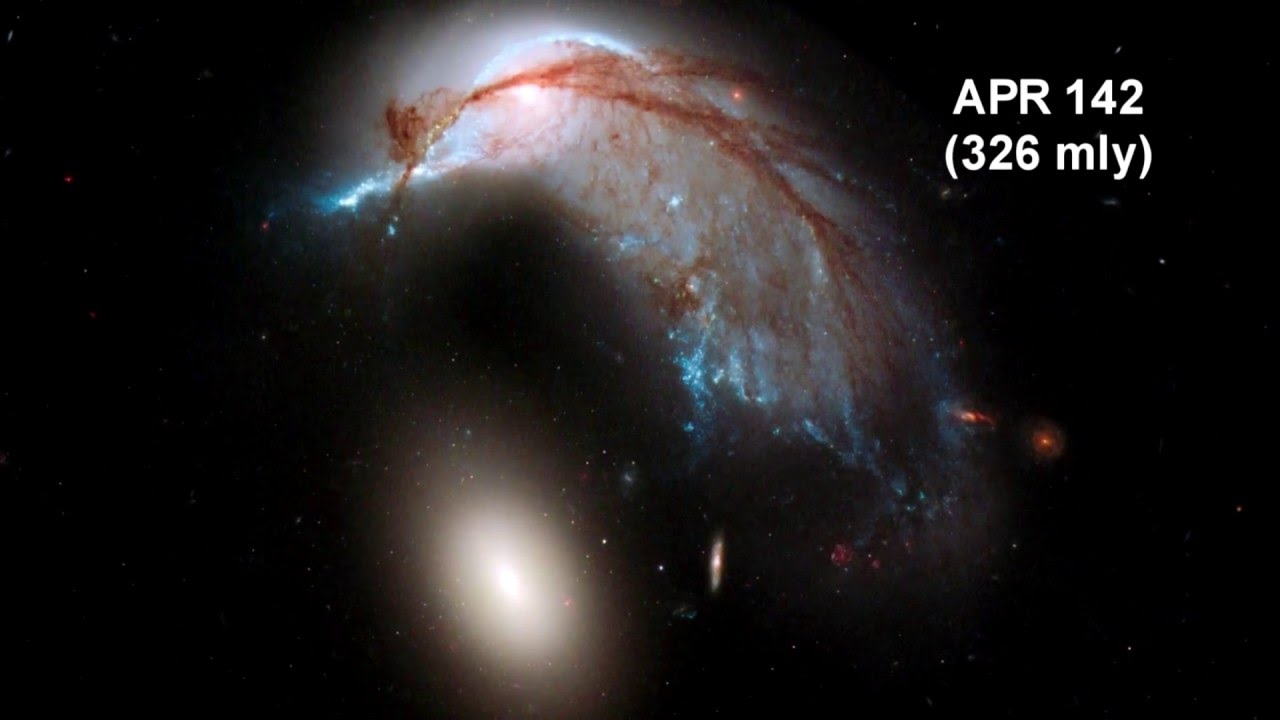 how far away is it 15 colliding galaxies 1080p youtube