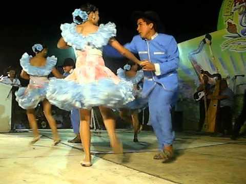 GRUPO DE BAILE DE JOROPO RECIO EN EL FESTIVAL PANOJA DE ORO 2011