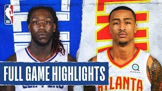 CLIPPERS at HAWKS | FULL GAME HIGHLIGHTS | January 22, 2020