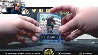 2019 Leaf Best of Sports Hobby Box Live Break - Craig
