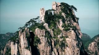 In den Huangshan-Bergen mit dem Macan