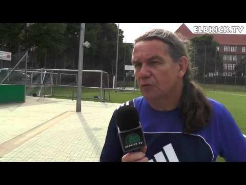 Hansjörg Kallenbach (Trainer USC Paloma II) und Mattes Sandhop (Trainer SC Sternschanze II) - Die Stimmen zum Spiel (USC Paloma II - SC Sternschanze II, Kreisliga 5) | ELBKICK.TV