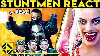 Stuntmen React To Bad & Great Hollywood Stunts 19
