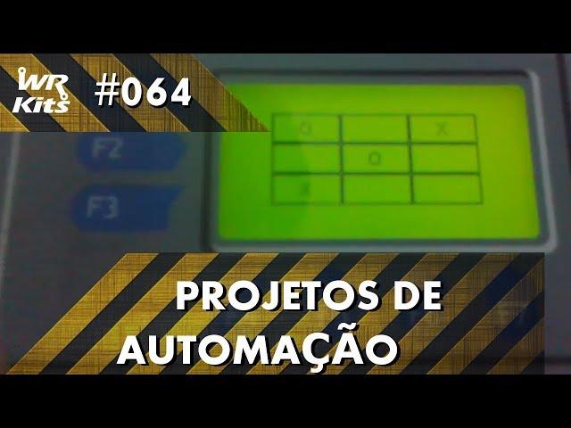 JOGO DA VELHA COM CLP ALTUS DUO | Projetos de Automação #064