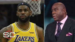 Magic Johnson is concerned about LeBron playing so much point guard | SportsCenter with Stephen A.