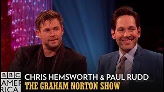 Chris Hemsworth Swaps Spoilers with Kit Harington | The Graham Norton Show | BBC America