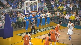 NCAA Basketball 10 2016 2017 Season Texas Longhorns vs West Virginia Mountaineers
