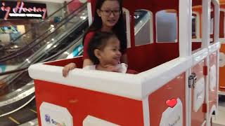 Nursery rhyme BINGO song- erajae riding train