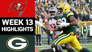 Buccaneers vs. Packers | NFL Week 13 Game Highlights