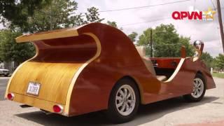 Độc đáo bộ sưu tập ô tô gỗ của thợ mộc người Mỹ