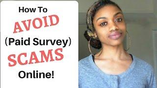 AVOID Paid Survey SCAMS + The BEST Legit Paid Survey Sites!