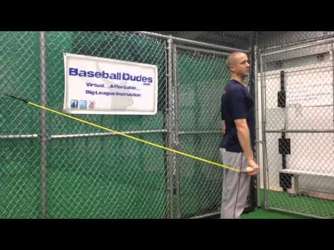 "Baseball Dudes Video Tip ""Shoulder Band Routine"" w/Chris Gissell"