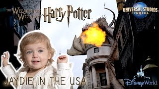 JAYDIE AND THE WIZARDING WORLD OF HARRY POTTER