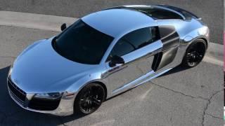 Audi R8 Chrome Wrap