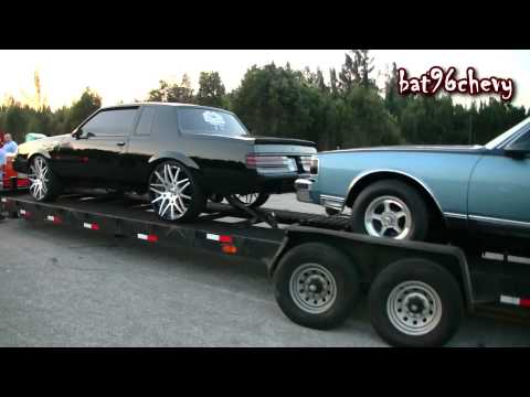 Ford Dually on 26's pulling PROCHARGED Grand National & KDC Box Chevy - 1080p HD - bat96chevy  - Rd4d0ooIj8k -