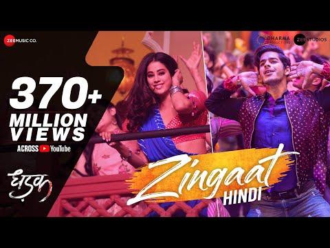 Zingaat Hindi - Dhadak - Ishaan & Janhvi - Ajay-Atul - Amitabh Bhattacharya