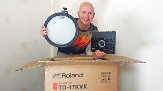 Roland TD 17 KVX  Electric Drum Kit Review - Unboxing & Assembling
