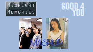 good 4 u X midnight memories MASHUP One Direction and Olivia Rodrigo