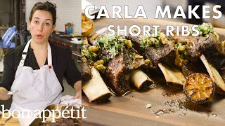 How to Slow Roast Short Ribs to Pull-Apart Perfection | From the Test Kitchen | Bon Appetit