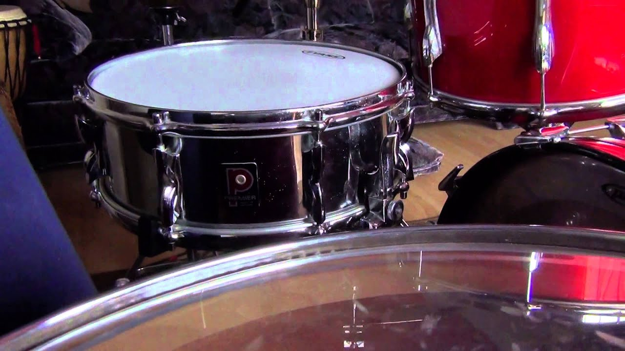 vintage 70s premier drums for sale african mahogany youtube. Black Bedroom Furniture Sets. Home Design Ideas