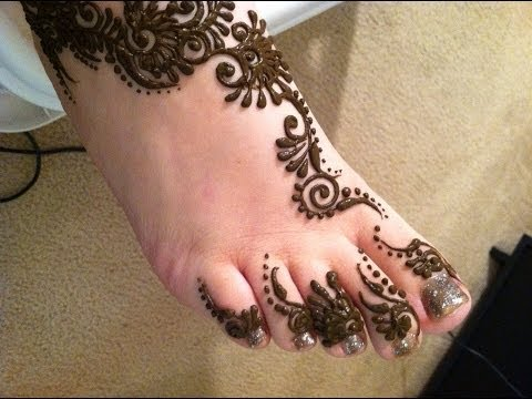 Beautiful Mehendi Design For Foot By Mehndiartistica Best Henna