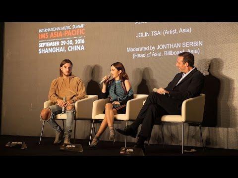IMS Asia-Pacific 2016: Alesso 'In Conversation' with Jolin Tsai