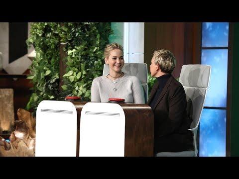 Jennifer Lawrence Answers Ellen's 'Burning Questions'