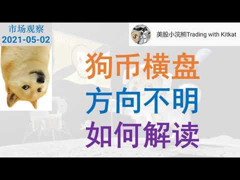 【市场观察】狗币横盘 方向不明 如何解读? 技术和心理层面分析 #狗狗币