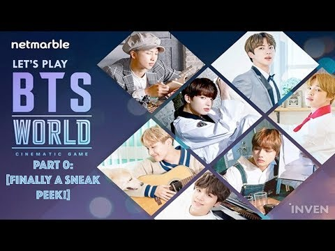 Let's Play: BTS WORLD CINEMATIC GAME Part 0: [FINALLY A SNEAK PEEK!]