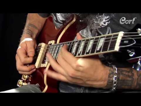 Cort M600-BB Rosewood Neck Electric Guitar - Blue Burst