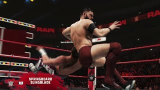 WWE 2K19 shows off some New Moves