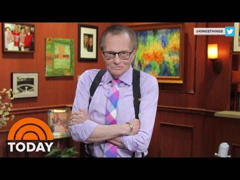 Larry King, Hospitalized With COVID-19, Has Been Moved Out Of ICU | TODAY