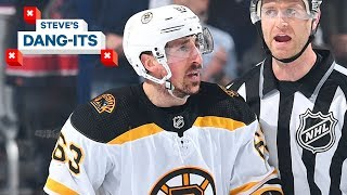 NHL Worst plays of The Week: Brad Marchand Edition | Steve's Dang-Its