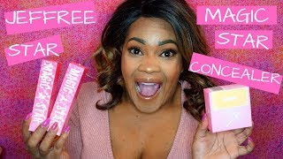 Magic Star Concealer and Setting Powder|Honest Review|Is It Black Women Friendly?