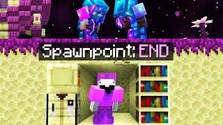 Minecraft Manhunt but we start in the END...