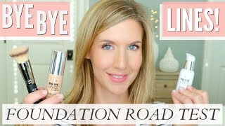 Healthy Skin Foundation | IT COSMETICS Bye Bye Lines Foundation + Serum Review | ROAD TEST